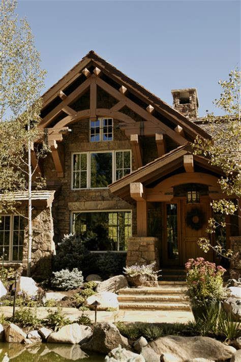 rustic house storm mountain ranch house rustic exterior denver