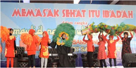 Memasak Itu Ibadah Agus Sasirangan pagelaran operet siswa i bunga bangsa pada hut kota