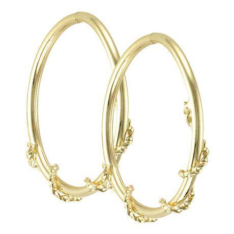 10k yellow gold hoop earrings walmart ca