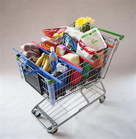 Supermarket Trolley Organizer Shopping Bag 4 Pcs Keranjang Belanja reusable grocery bags box collapsible shopping trolley cart storage tote bag 4pc ebay