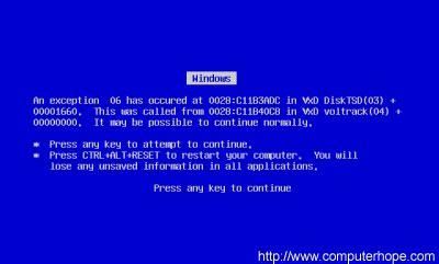 the blue screen of death | hypergengar tv wiki | fandom