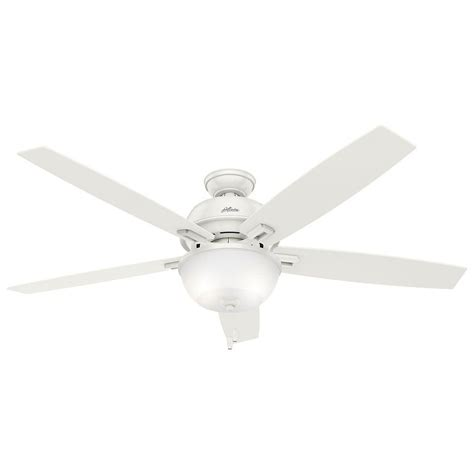 Indoor Ceiling Fan With Light Conroy 42 In Indoor White Low Profile Ceiling Fan With Light Kit 51022 The Home Depot