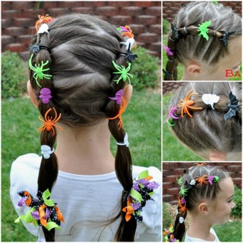 halloween hairstyles for medium hair 10 very creative halloween hairstyles for girls