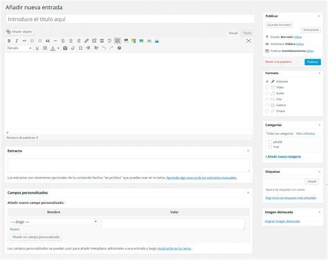 tutorial django openwebinars wordpress tutorial escribir entradas openwebinars net