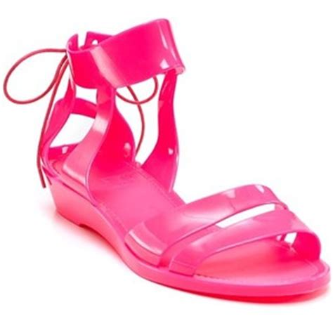 Sandal Jelly Gladiator Glass 095 see by pink jelly sandals purseforum