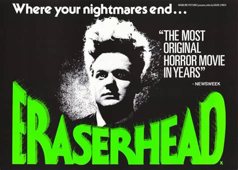 Eraserhead Soundtrack Vinyl Reissue - david lynch archives self titled