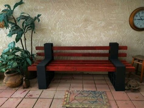 cinder block bench pinterest the world s catalog of ideas
