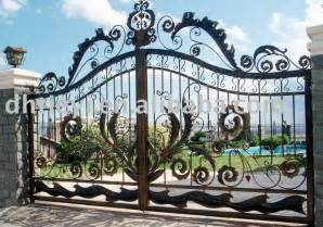 Decorative Iron Gates by Iron Gate Wrought Iron Gate Garden Wrought Iron Gate Villa