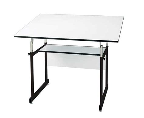 Alvin Drafting Table Workmaster Jr Black 36x48 Top Black Drafting Table