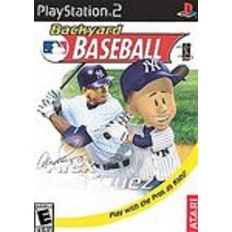 backyard baseball sony playstation 2
