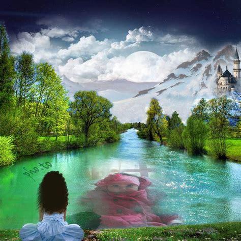 imagenes de paisajes sin editar fotomontajes con hermosos paisajes editar fotos online