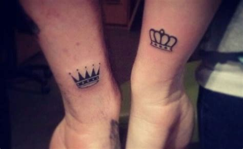 matching crown tattoos 43 stunning wrist couples tattoos