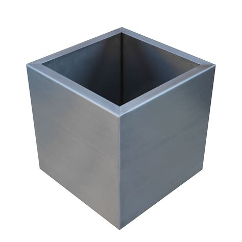 Stainless Steel Planter Pots by Planters Stainless Steel Seamless Custom Metal Home