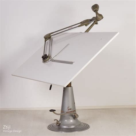 Vintage Industrial Nike Drafting Table Ztijl Nike Drafting Table
