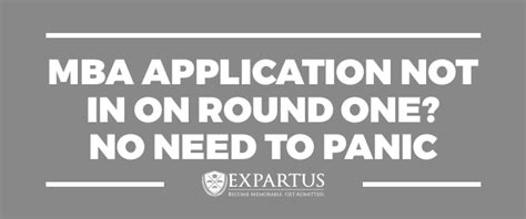 Mba Apply Now Or Later by Expartus Mba Consulting Mba Application Not In On One