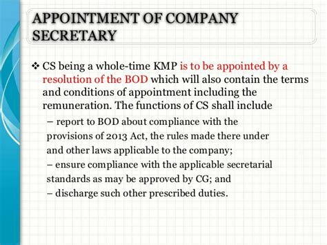 appointment letter of kmp companies act 2013 appointment letter for kmp 28 images appointment