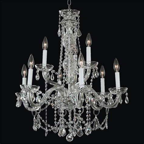 Crystal Chandelier Dining Room Crystal Palace 550 Glow Glow Lighting Chandeliers