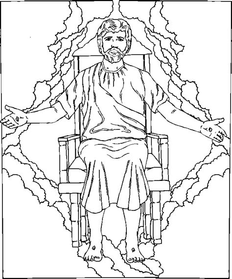 coloring pages jesus return jesus return to earth coloring page kidexplorers