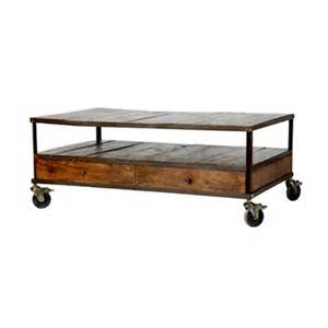 Coffee Table Industrial Copy Cat Chic Wisteria Industrial Coffee Table