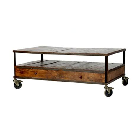 wisteria industrial coffee table copy cat chic