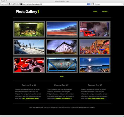 Xseeerede2012 Image Gallery Templates For Websites Gallery Website Templates Free