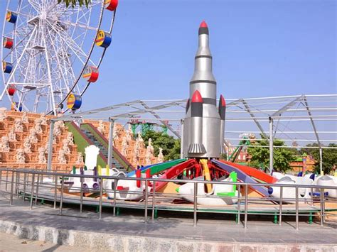 theme park kanpur swing chair ride picture of blue world theme park