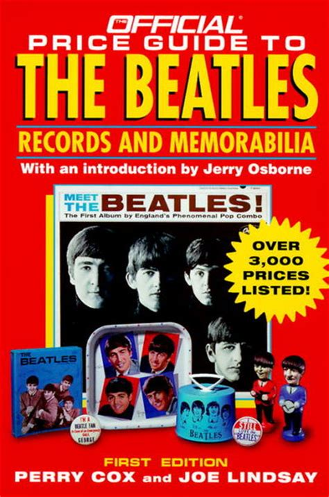 The Official Price Guide To The Beatles Records And