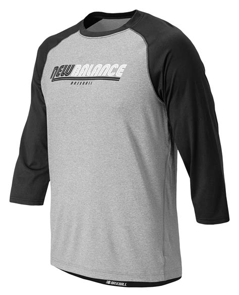new balance clothing sleeve shirts baseball