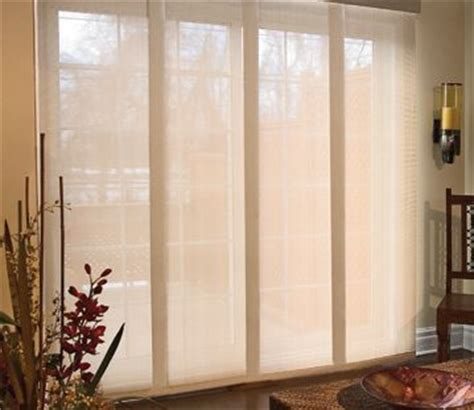 Patio Door Panel Blinds by 25 Best Ideas About Sliding Door Coverings On