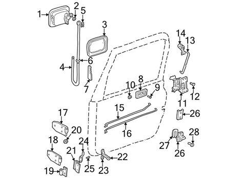 door lock hardware for jeep wrangler mopar one