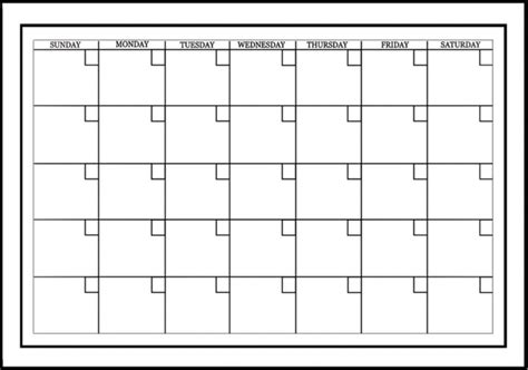 Calendrier Effacable Wallpops Calendrier Mensuel Blanc Autocollant Effa 231 Able 224