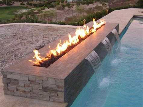 pool fire pit outdoor gas fire pit designs