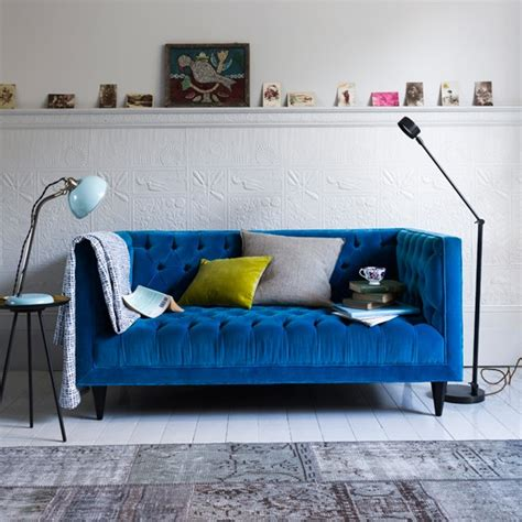 bright blue couch colour crush electric blue sophie robinson