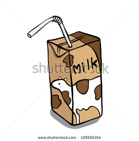frozen hot chocolate vs chocolate milk chocolate milk carton clipart