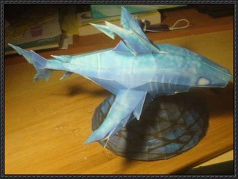 Papercraft Shark - wizard101 shark free papercraft