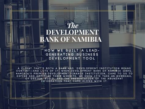 namibia development bank web design development bank of namibia dbn