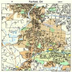 fairfield ohio map 3925970