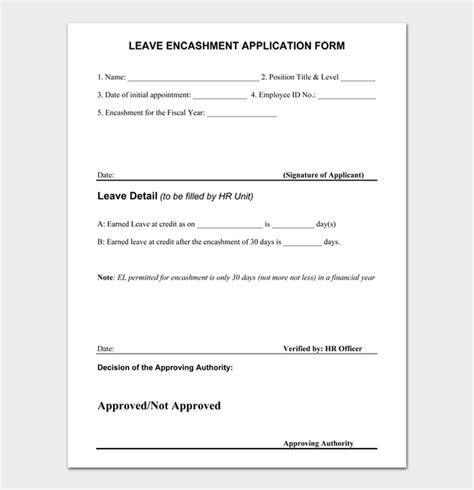 write leave letter sample letters work