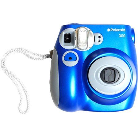 polaroid 300 instant film camera, blue walmart.com