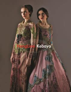 Jelita Dusty Ak Pakaian Dress Wanita Warna Dusty Pink Brokat Kebaya Kebaya Kebaya Brokat And