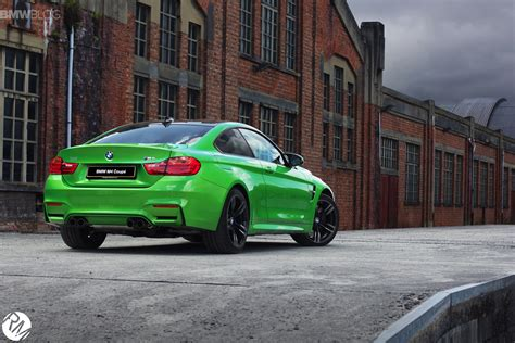green bmw bmw m4 coupe in java green
