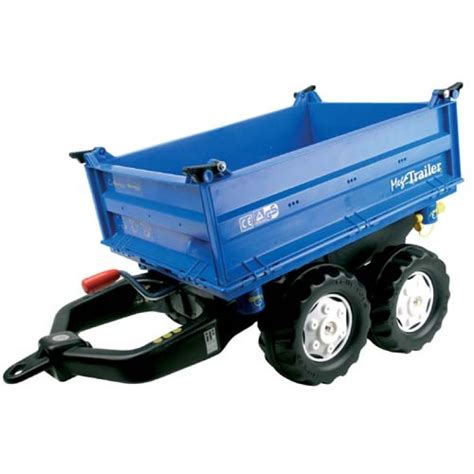 blue trailer hearty farm toys trailers accessories