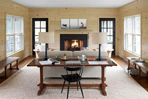 Living Room Desk Ideas Modern Country Decor Ideas Modern Connecticut Vacation Home