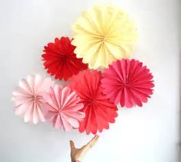 birthday decor 12 tissue paper pomwheels