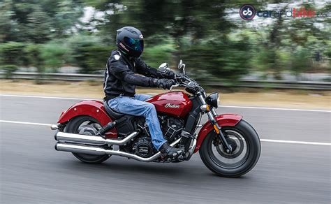 Indian Scout Sixty Review   NDTV CarAndBike