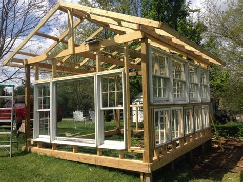 can i build a greenhouse in my backyard building a greenhouse from old windows drivhuse hytter