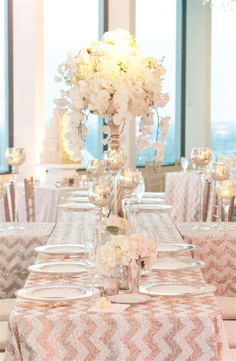 glam glitter wedding theme archives weddings romantique