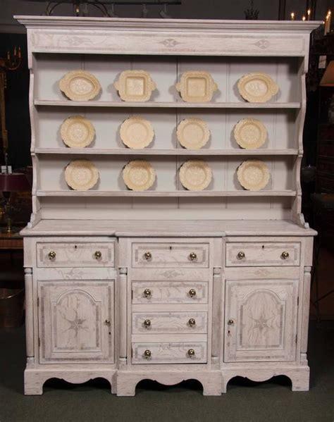 Limed Oak Dresser by Large Inlaid Limed Oak Dresser For Sale At 1stdibs