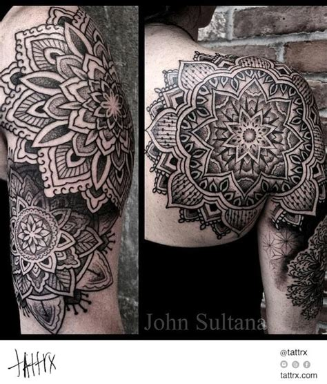 tattoo mandala buddha john sultana tattoos mandala half sleeve tats