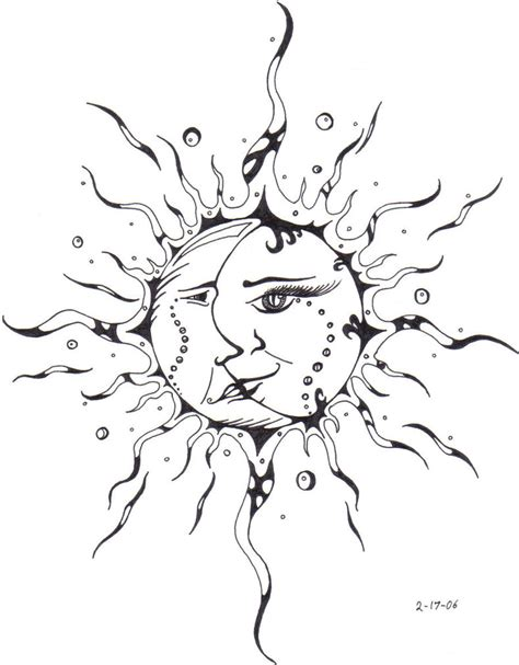 moon and sun tattoo sun tattoos designs ideas and meaning tattoos for you